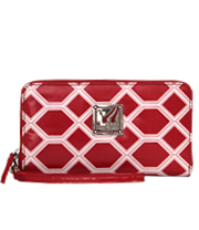 Notting Hill Wallet - Diamondback - Regatta Red