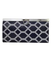 Oxford Clutch - Diamondback - Navy