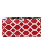 Oxford Clutch - Diamondback - Regatta Red
